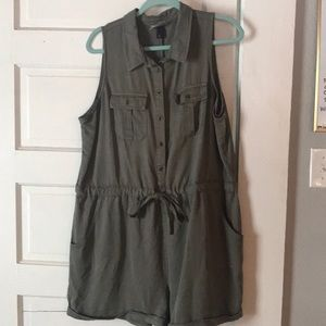Army Green Universal Thread Romper